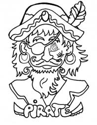 funny pirate pirates coloring pages kids print u0026 color