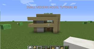 Small Easy To Build House Plans How To Build A Small Modern House In Minecraft On The Pc 1 Easy