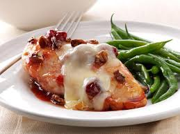 cherry glazed chicken with toasted pecans recipe taste of home
