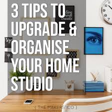 How To Build A Home Studio Desk by Three Tips For Upgrading And Organising Your Home Studio Or Craft