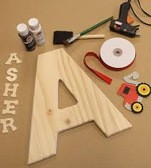 Decorating Wooden Letters Diy Personalized Wood Letter And Name Decoration U2013 Factory Direct