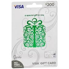 prepaid gift cards with no fees vanilla visa visa vanilla 200 prepaid gift card walgreens