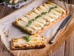 cuisiner les asperges blanches tartelettes aux asperges blanches et à la feta recette asperges