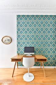 papier peint de bureau un appartement clerc décoratrice intérieur côté maison