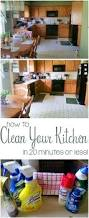 how to clean your kitchen in 20 minutes or less mama plus one