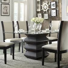 Dining Table Black Glass with Kitchen Table Adorable Modern Kitchen Tables Black Glass Table