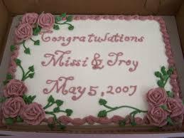 wedding sheet cake 11x15 1 2 sheet cake to go with wedding cake cakecentral