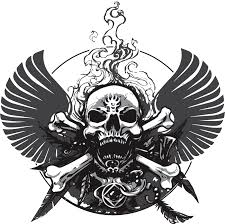 image decal skull and wings png tradelands wikia fandom