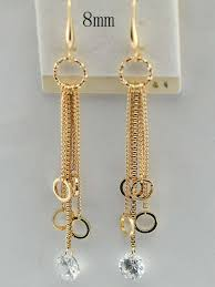 trendy earrings 2013 trendy earrings with necklace white copper plated