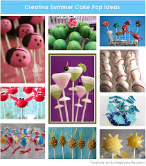 10 creative cake pops for a summer party creative cakes cake