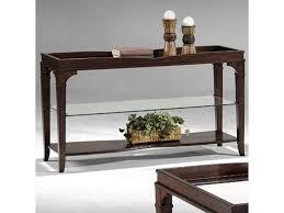 Fairmont Design Furniture Fairmont Designs Monarch Console Table W Middle Glass Shelf