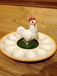 ceramic egg dish 81 best egg plate images on boiled eggs deviled egg