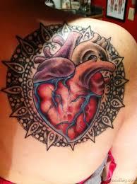 91 supreme back shoulder tattoos for girls