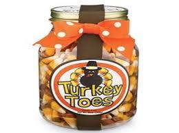 corn turkey toes diy thanksgiving craft using jars