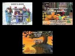 Credits To Barney And The by Winnie The Pooh Blue U0027s Clues And Sesame Street Credits Remix 2