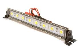 10 Led Light Bar Realistic Roof Top Smd Led Light Bar 145x19x21mm For 1 10 Scale