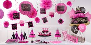 pink and gold party supplies pink chevron birthday party supplies pink gold party decorations