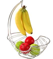 fruit basket pantry works fruit basket and banana holder in bread and fruit baskets