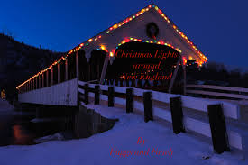 christmas lights around new england fuggs and foach