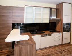 contemporary kitchen cabinets white gloss walls engineered