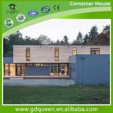 2 bedroom prefabricated modern modular steel prefab house view