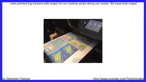 how to make a kids u0027 passport scrapbook for vacation youtube