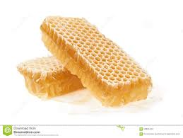 edible honeycomb two pieces of honeycomb stock photo image of golden 58059444