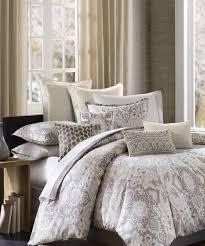 max studio home decorative pillow gray u0026 cream paisley comforter set something special every day