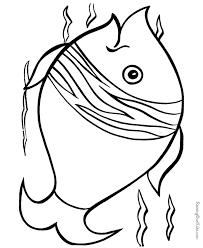 fish patterns printable coloring