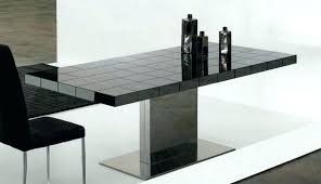 modern pedestal dining table rectangle pedestal dining tables notify me small rectangular