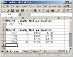 ms excel how to use the dsum function ws