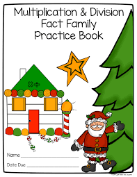 math fact families multiplication division light bulbs and laughter multiplication and division fact families