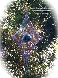 custom tree ornaments by light stained glass