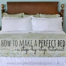 Make A Bed How To Make A Bed Like A Hotel Apartment U0026 Home Decor