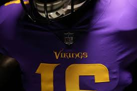 what jersey will the cowboys wear on thanksgiving purple dominates vikings color rush uniforms