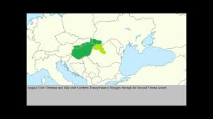 Map Of Europe During Wwii by Hungary During Ww2 Youtube