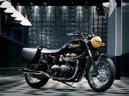 classic collectible triump bonnevile motorbike triumph
