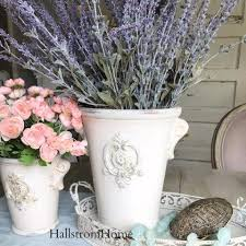 Lavender Home Decor Perfect French Urn Fleur De Lis With Lavender For Table Home Decor