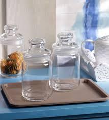 Jar Table L Buy Pop Large 1 L Storage Jar Set Of 6 Jars