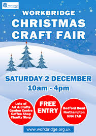 christmas craft fair 2017 workbridge northampton sat 2nd