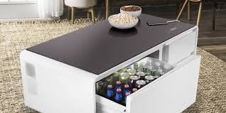 sobro is the u0027cooler coffee table u0027 that features an integrated