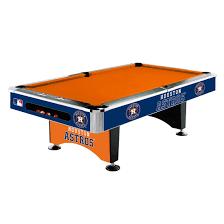 imperial sharpshooter pool table 8 mlb houston astros team logo pool table gametablesonline com