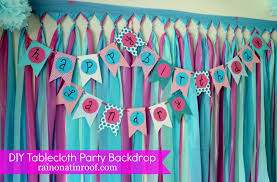 Birthday Party Ideas Homemade 1st Birthday Party Decoration Decorating Of Party