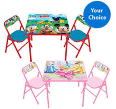 walmart table and chairs set walmart com activity table and chair set only 25