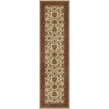 Mohawk Runner Rug Orian Rugs Detailed Design Traditional Borokan Black Runner 2 U00273 X