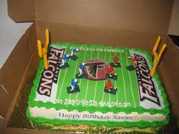Decorative Cakes Atlanta Atlanta Falcons Football Field Cake Custom Cakes Virginia Beach