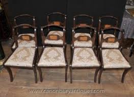 Regency Dining Chairs Mahogany Mahogany Chair Antique Dining Room