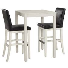 tall white kitchen table bar height dining table 5 piece pub table set espresso 5 piece bench