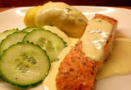 recette de cuisine saumon saumon à la moutarde norvège recettes de cuisine