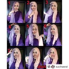 tutorial hijab pesta 2 kerudung 25 kreasi tutorial hijab paris simple terbaru 2018